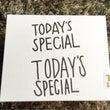 TODAY'S SP…