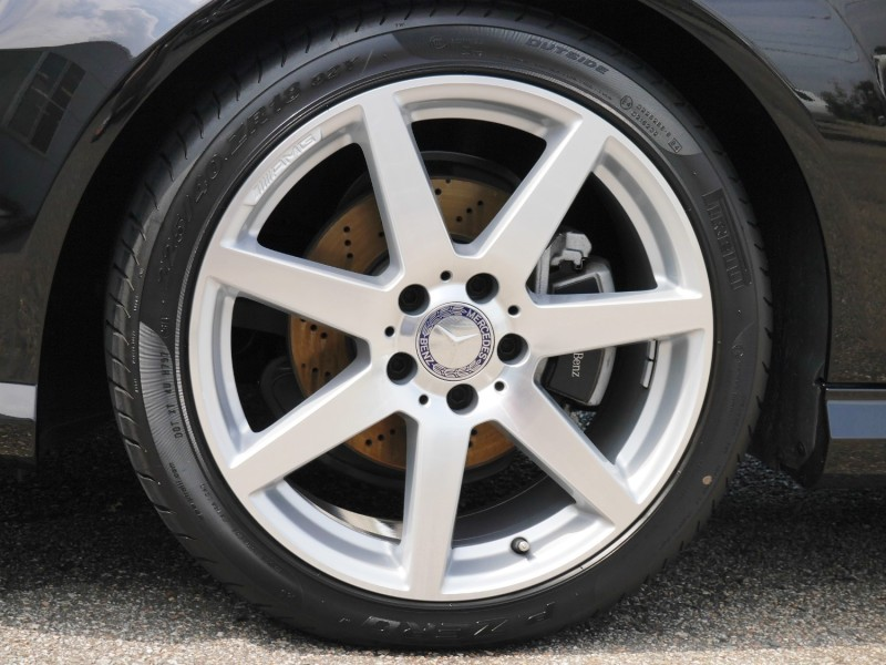 洗車/タイヤコーティング施工後のタイヤ/ホイール