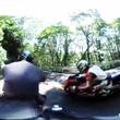 「椿ライン」360度…