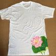 蓮の花〜Tシャツに描…