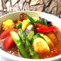 道産夏野菜のスープカ…