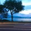 琵琶湖ロケ。