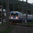 夕暮れ電車
