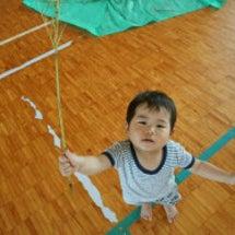 七夕笹飾り作り
