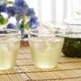<京の冷茶と青洋の和…