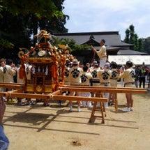 足柄、八坂神社のお祭…