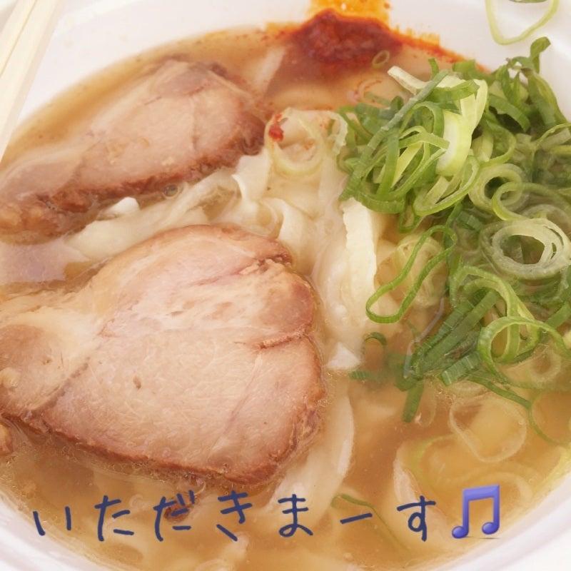 神戸陸上自衛隊基地でのイベントで食べた刀削麺