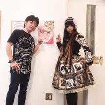 岸田尚さんの肖像画展…