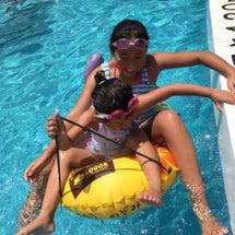 暑い日はプールが最高