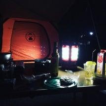 キャンプ熱
