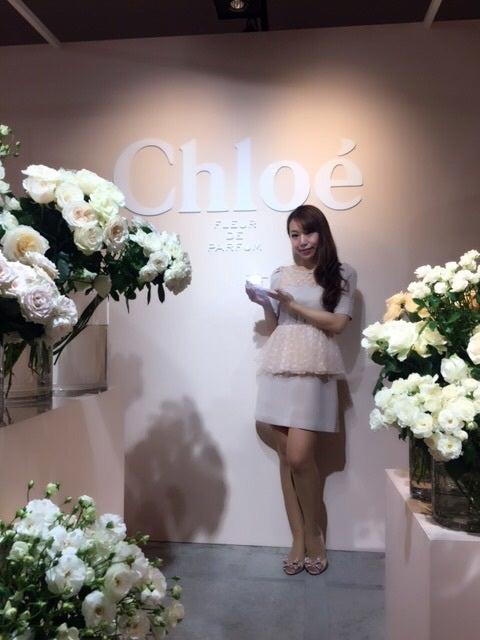 CHLOE新作フレグランス発表会へ♡