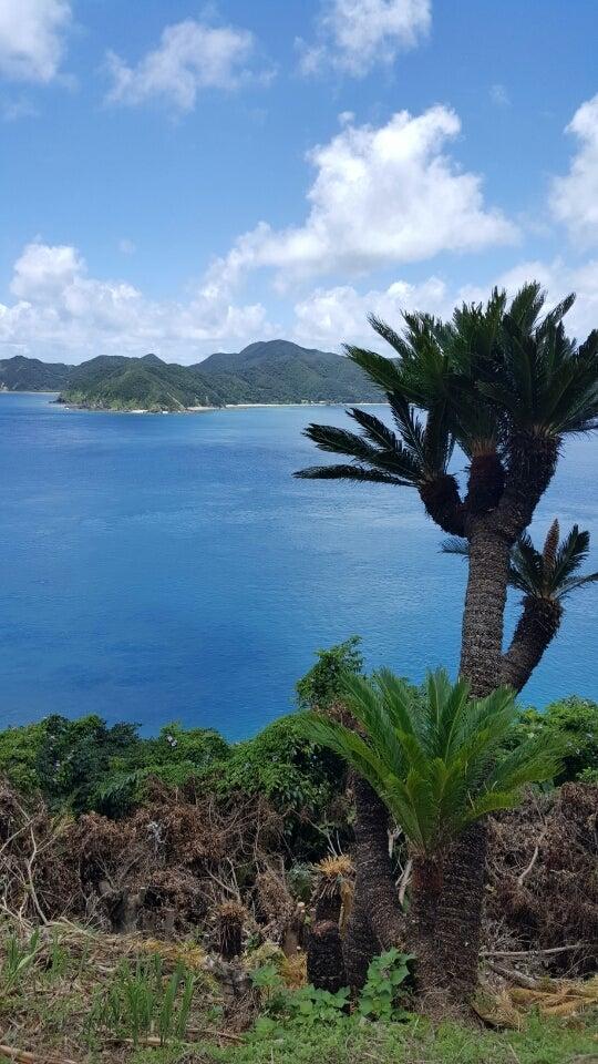 マネン崎展望台 加計呂麻島