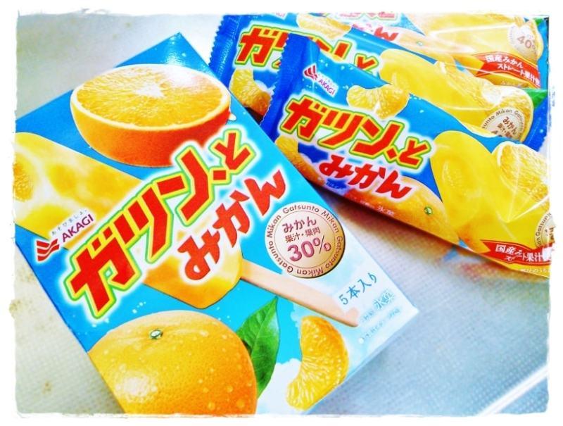 ガツン、とみかん 赤城乳業 アイスキャンディー アイス 氷菓