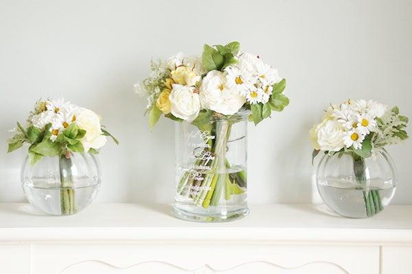 造花のパーティーブーケ