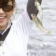 那珂川の鮎を母子で釣…