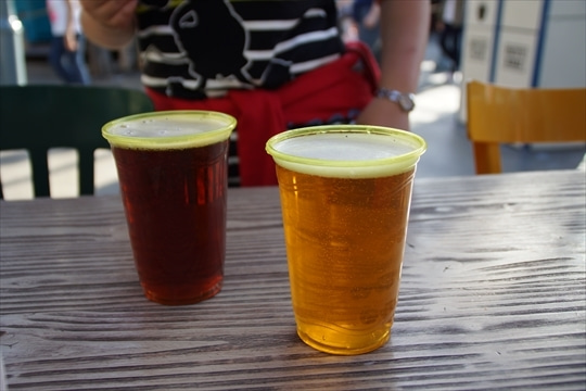 地ビール2杯