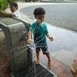 水遊び、泥んこ遊びの…