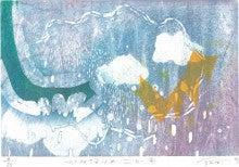『かみなりのこども』木版画2012 800 ④