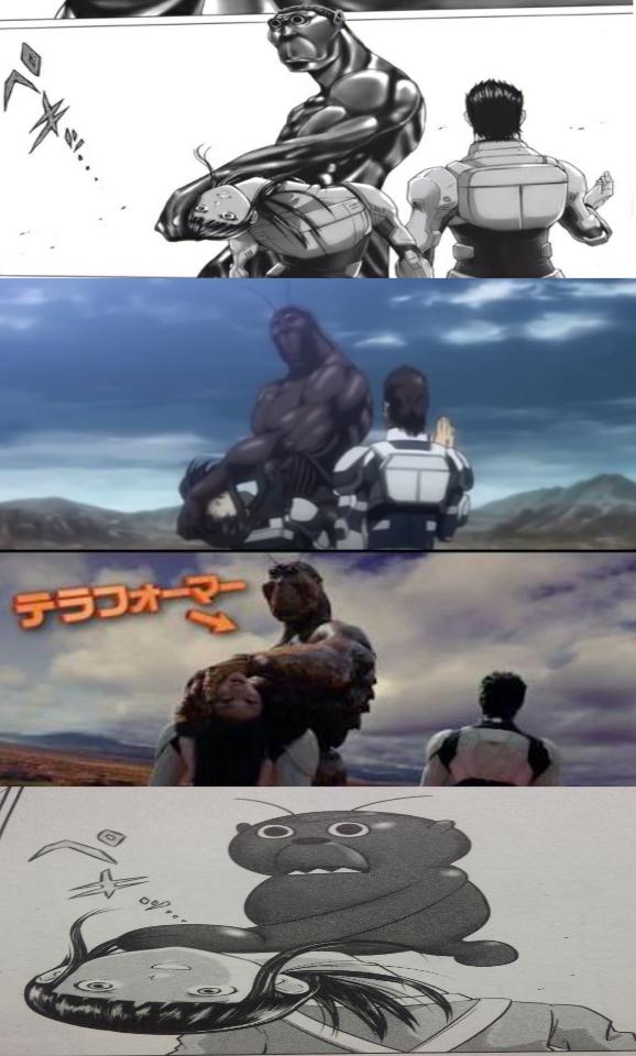テラフォーマーズ アニメ ひどい
