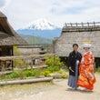富士山の頂上で結婚式