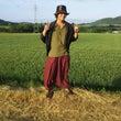 畑にて(^^♪