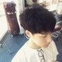 メンズ夏髪