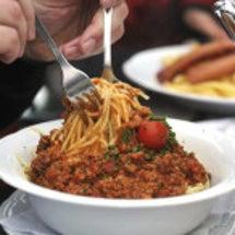 スパゲッティ、スプー…