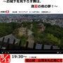 8月13日は松山城で…