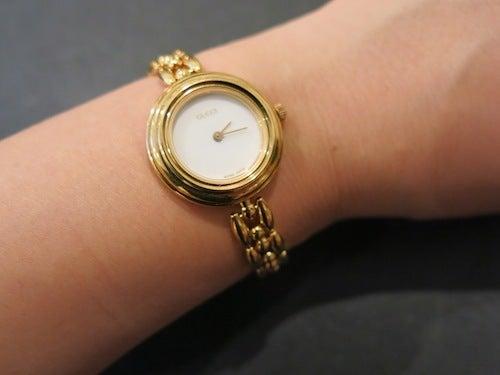 GUCCI ヴィンテージ グッチ 時計 カメレオン ブレスタイプ