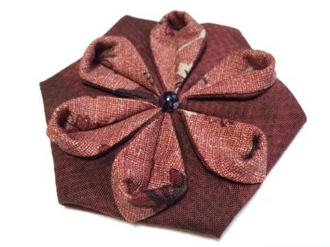 ハート 折り紙 折り紙キルト 作り方 : ameblo.jp