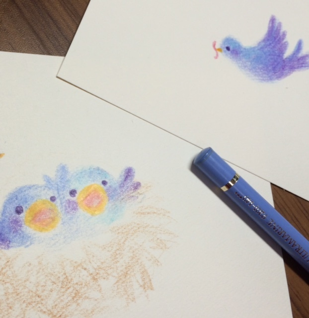 子育て 小鳥