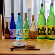 日本酒を飲んで、熊本…