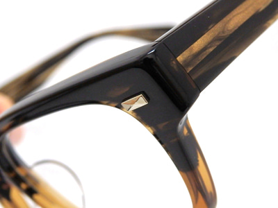 OLIVER PEOPLES RYCE カシメ アップ