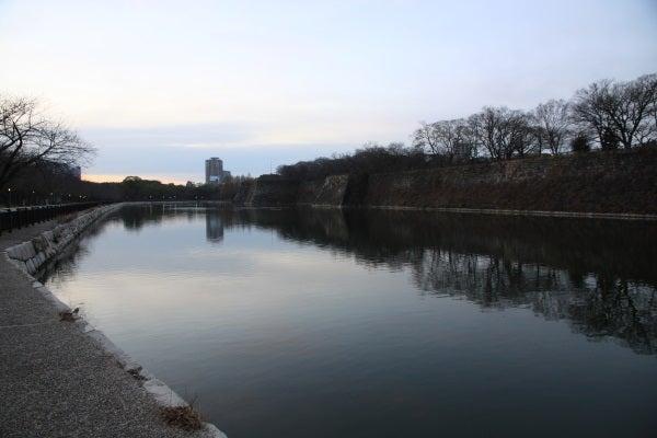 大坂城 外堀 二の丸石垣