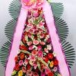 韓国の竣工祝いの花環…