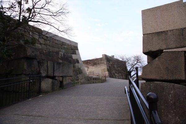 大坂城 山里門跡
