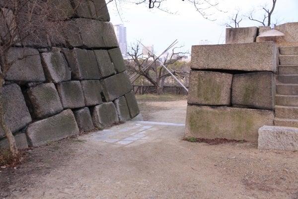 大坂城 埋門跡