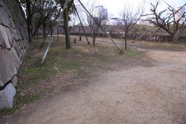 大坂城 隠し曲輪