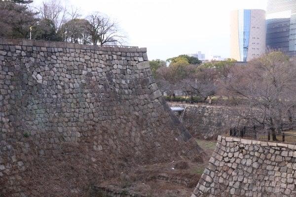 大坂城 具足方預方菱櫓跡