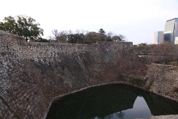 大坂城 内堀