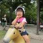 ☆東京競馬場で水遊び…