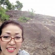 山に登りました