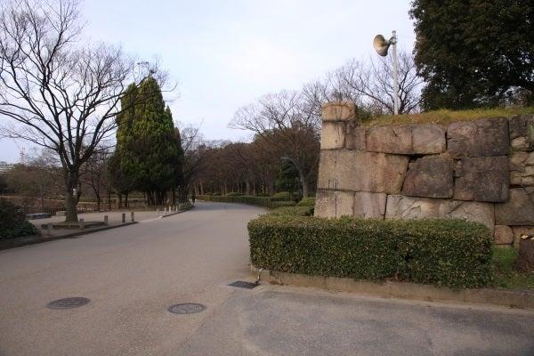 大坂城 仕切門石垣