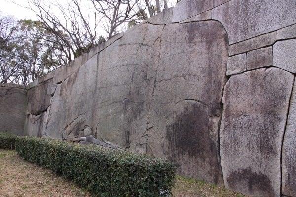 大坂城 肥後石