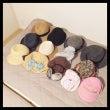 あなたは何個帽子を持…
