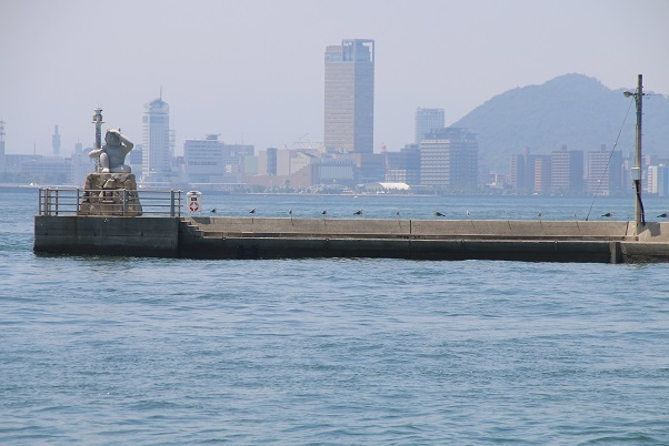 女木島から高松市街地