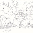 ボールペン画 6