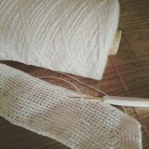 編み物再開www