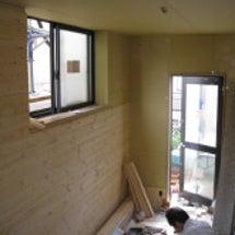 ピアノのお部屋の壁工…