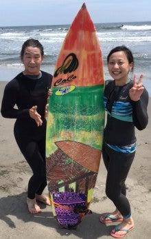 サーファーガール初心者サーフィンスクール